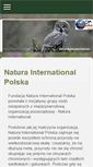 Mobile Preview of natura-international.org.pl
