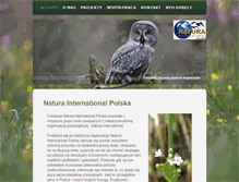 Tablet Preview of natura-international.org.pl